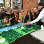 Final preparations for the Summer Fayre